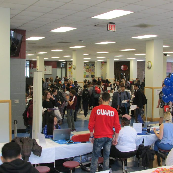 Lowell High School Job Fair Image