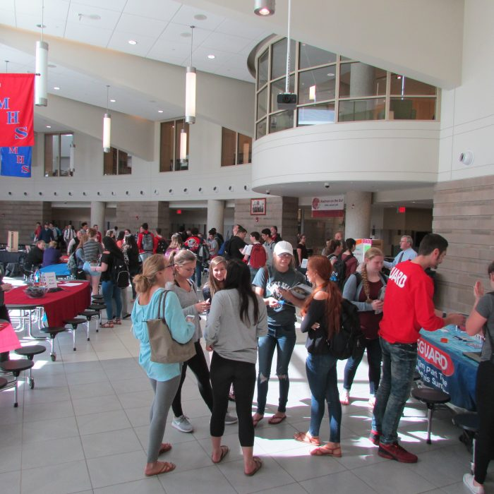 Tewksbury High School Job Fair Image